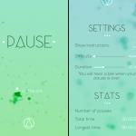 洗練された新しいリラックスアプリ「PAUSE」でこころがスーッと落ち着いていく