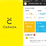 健康情報をまとめて一括管理できる「CARADA」アプリと対応機器