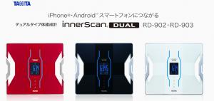 RD-902・RD-903 デュアルタイプ体組成計 innerscan DUAL タニタより引用