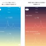 時間ごとに変わるグラデーションに癒される、シンプル歩数計アプリ「StepGraph」