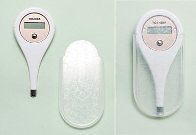 東芝婦人用電子体温計:トップページより引用
