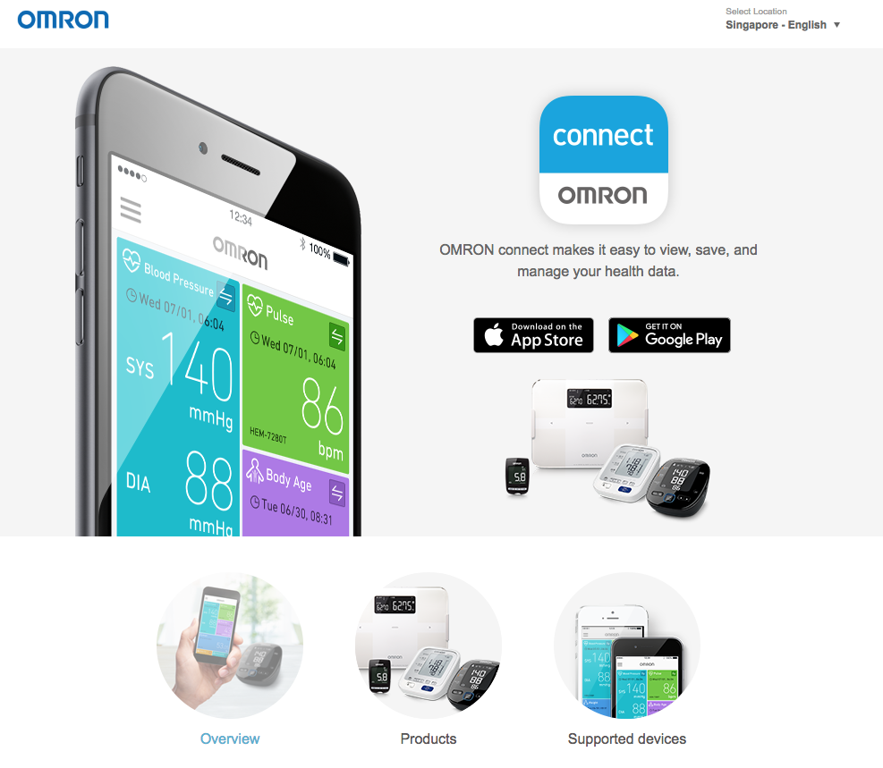 OMRON connect Official Site Generalスクリーンショット